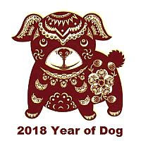 2018 Chinese Astrology Dog